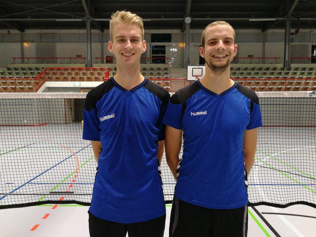 ksj flensburg badminton trainer tobias und tim